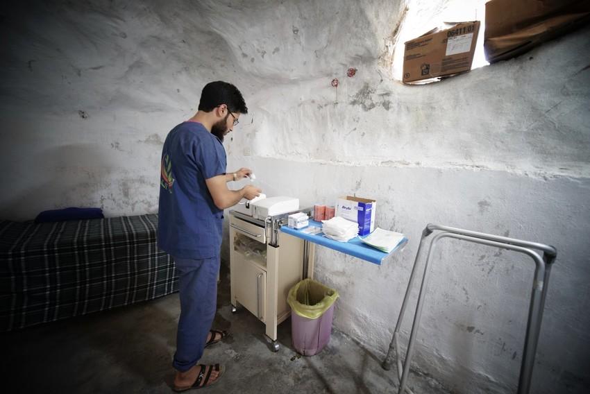 El hospital de traumas en Idlib