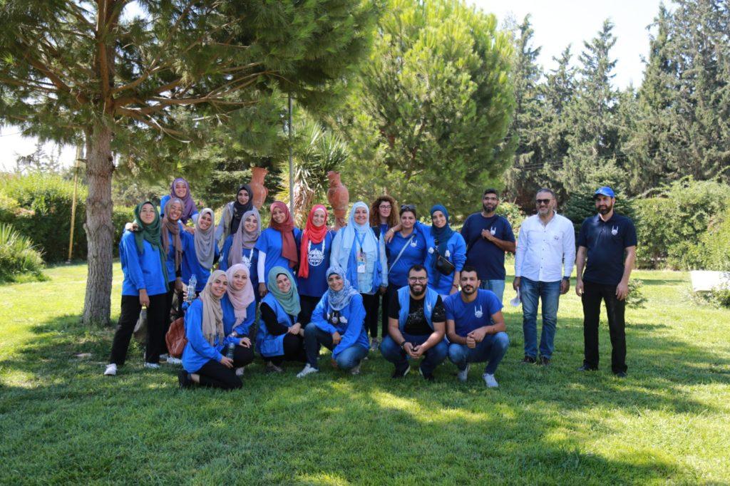 Foto del equipo de IR España, Italia y Líbano