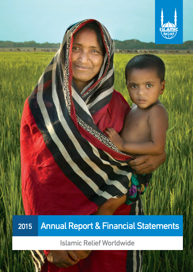 Informe anual Islamic Relief 2015