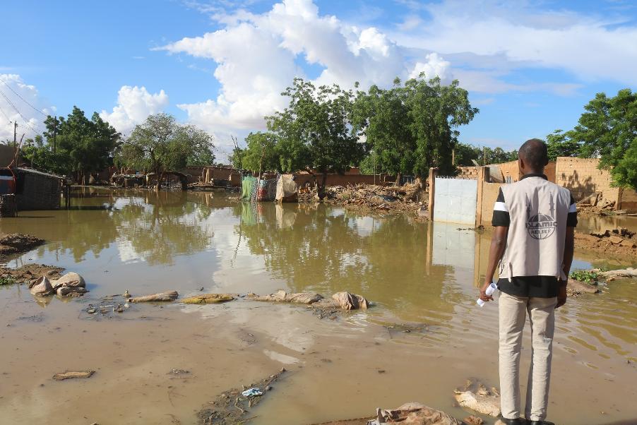 Inundaciones en Niger