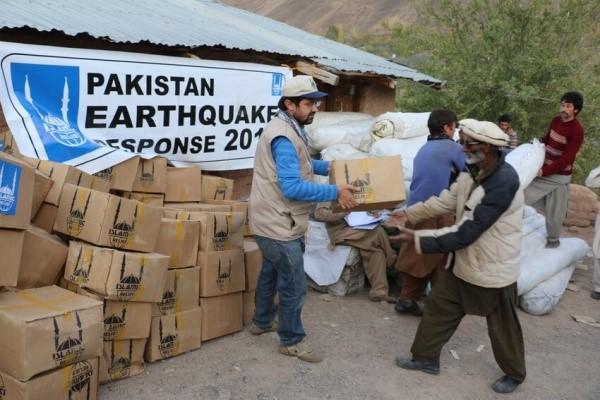 Asistencia humanitaria en Pakistán