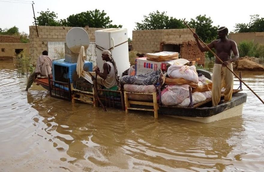Inundación en Sudán