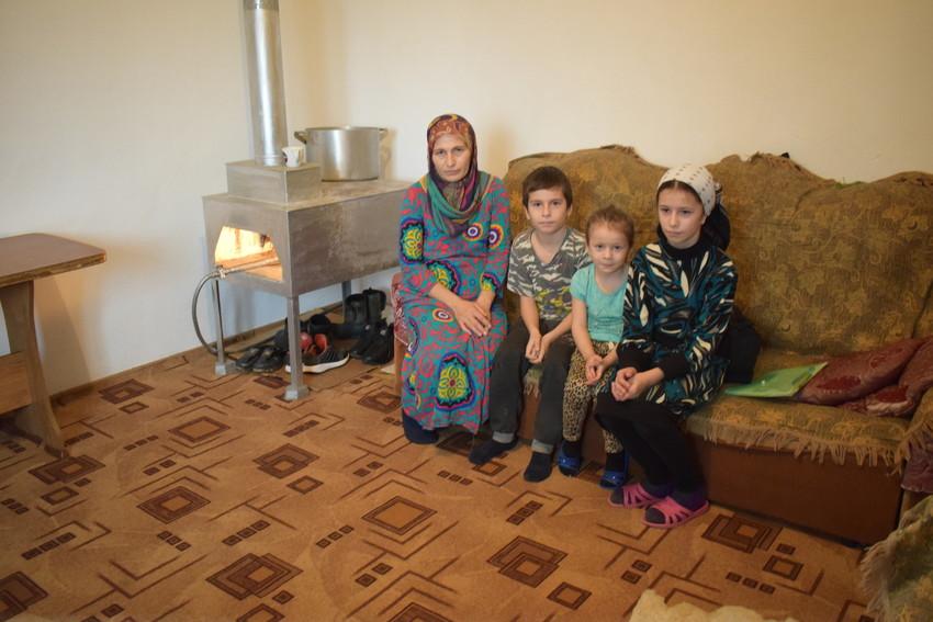 Market Usumova, madre de 5 hijos, Chechenia