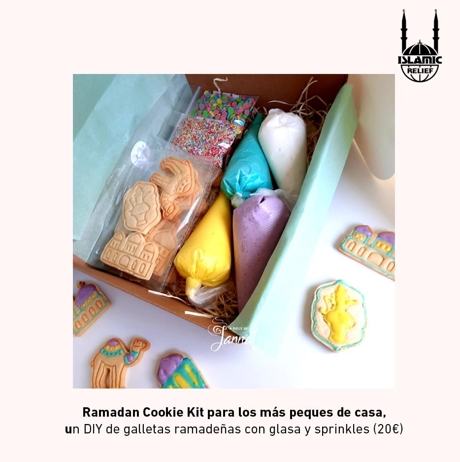 Ramadan Cookie Kit para los más peques de casa, un DIY de galletas ramadeñas con glasa y sprinkles (20€)