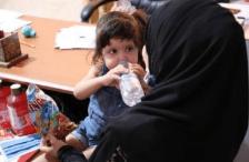 Nasrin, de tres años