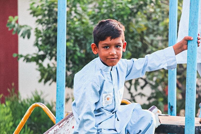 Niño de Afganistán