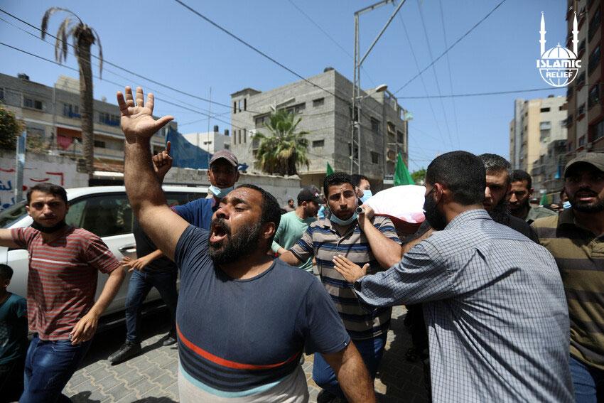 Civiles afectados por por ataques