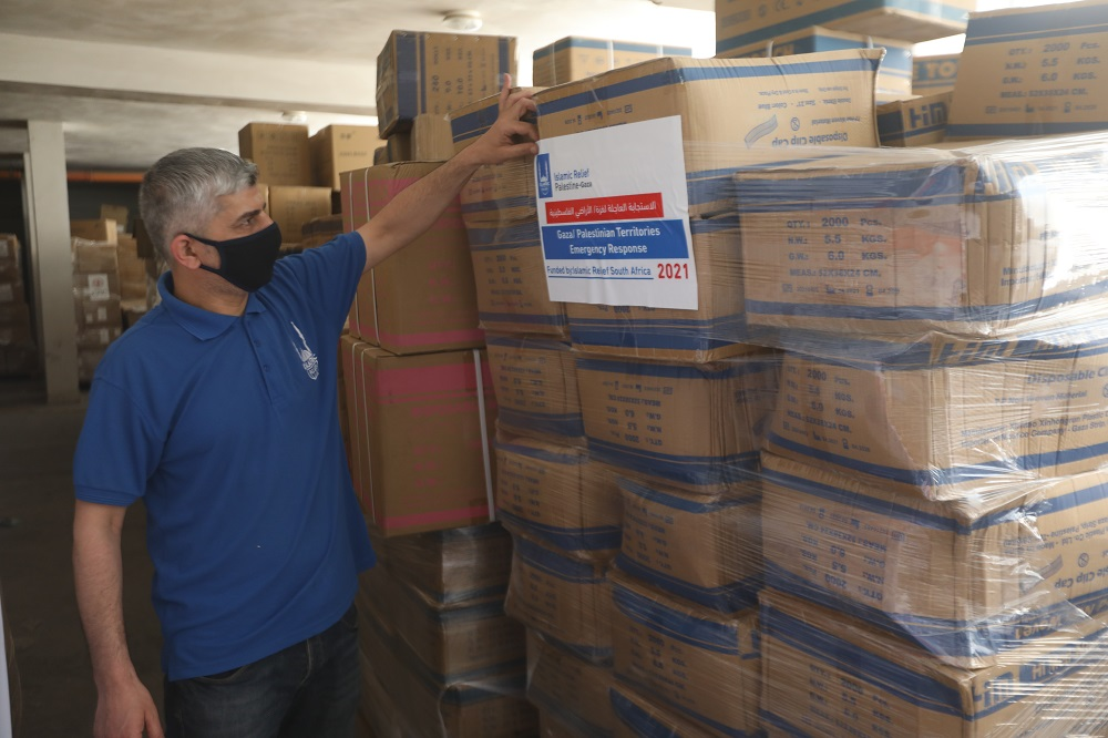 Islamic Relief distribuyendo ayuda vital en Gaza