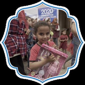 Regala a un niño de Palestina ropa o material escolar en este Eid Al-Adha