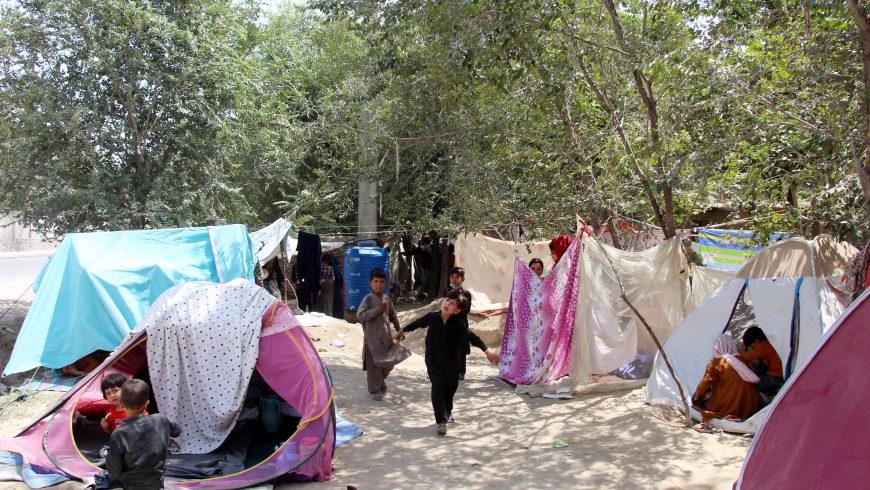 Niños en los campamentos de Afganistán