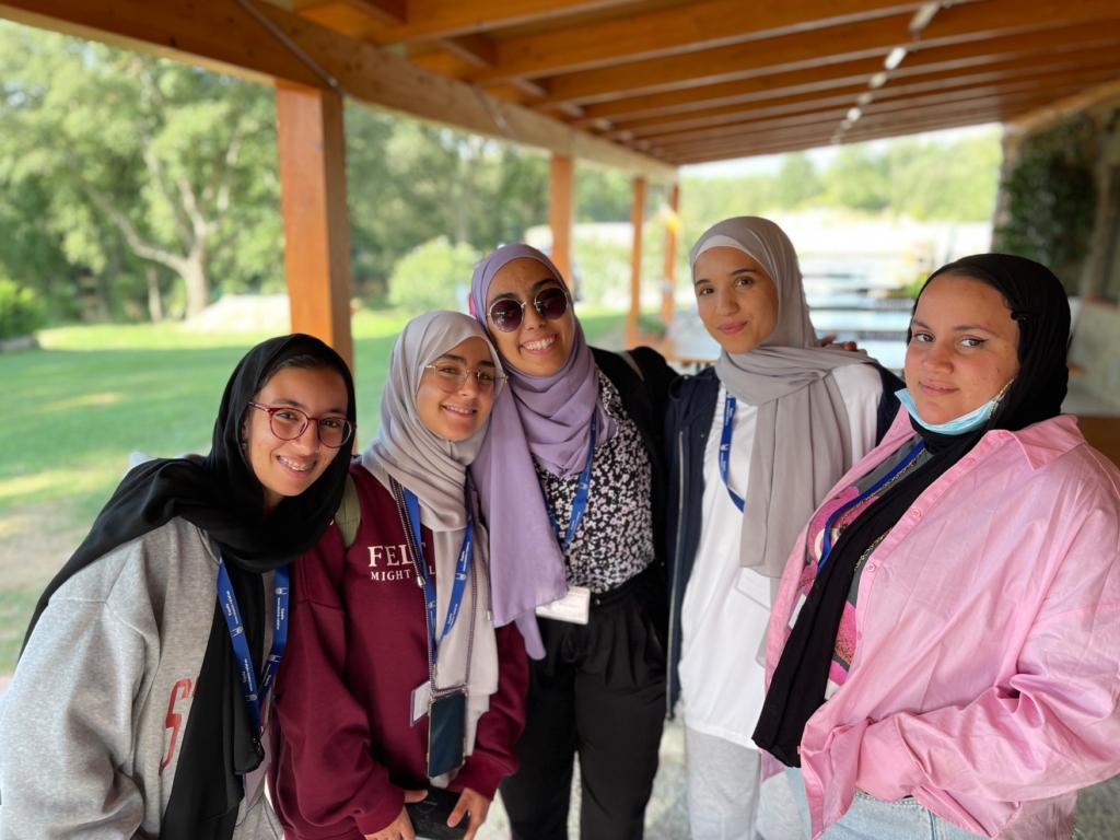 Voluntarios en el Blue Day de Islamic Relief España