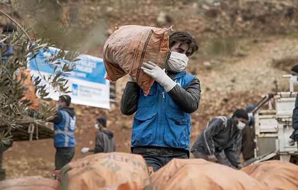 Trabajador humanitario de Islamic Relief